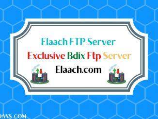 Elaach ftp server