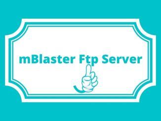 mBlaster Ftp Server