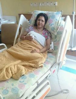 Bangla film actress diti hospitalized chennai