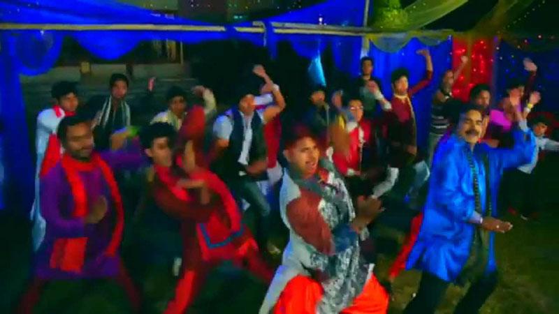 Aziz reza film choreographer dances with his own song
