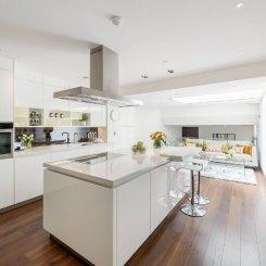 BMDirect Kitchen Cabinet Systems (White Marble Kitchen)