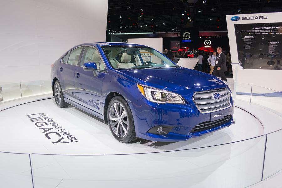 Car Talk: Reviewing the 2015 Subaru Legacy