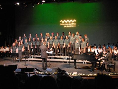 Greenline Singers Hit a High Note