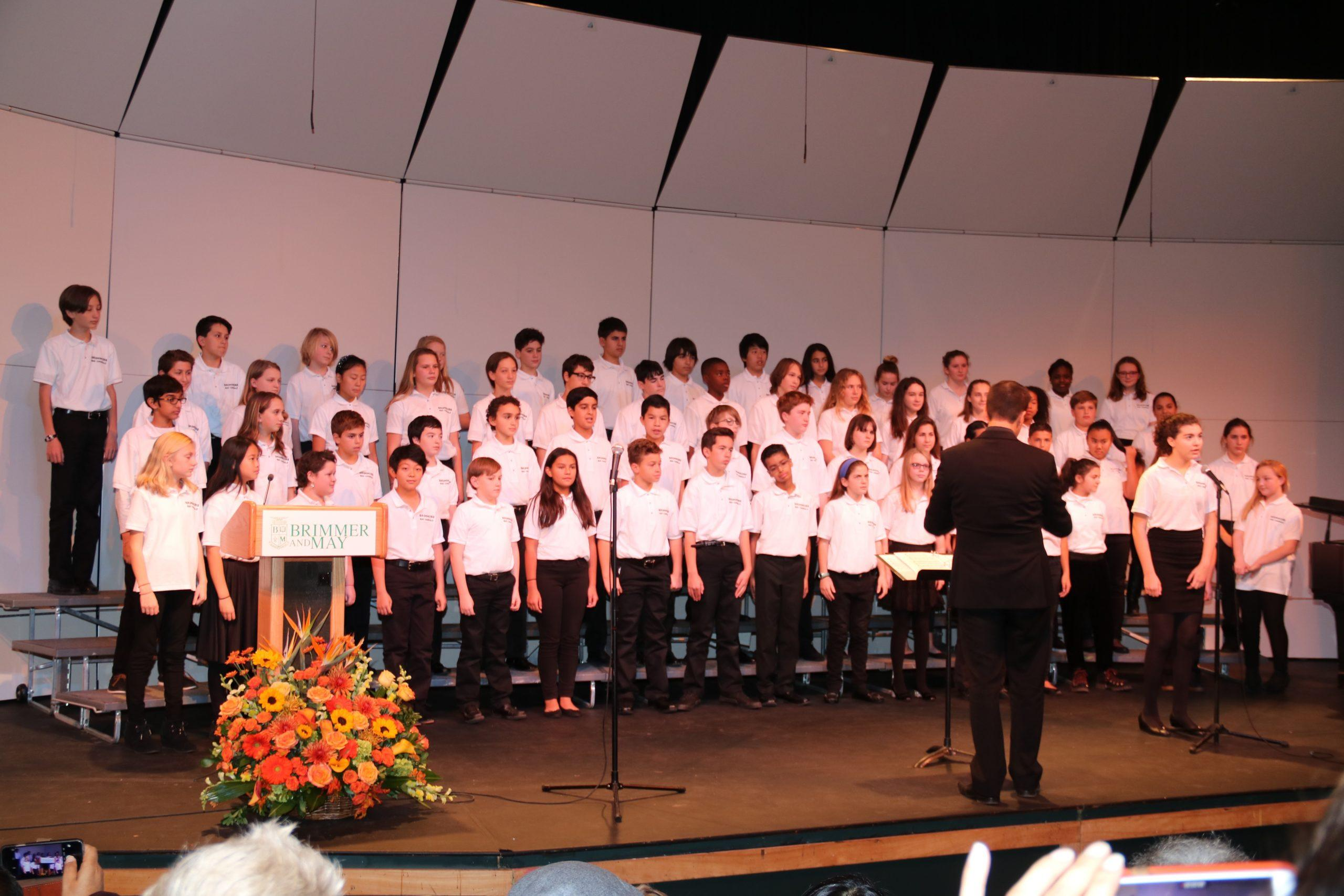The+Middle+and+Upper+Schools+held+its+traditional+Thanksgiving+assembly.+