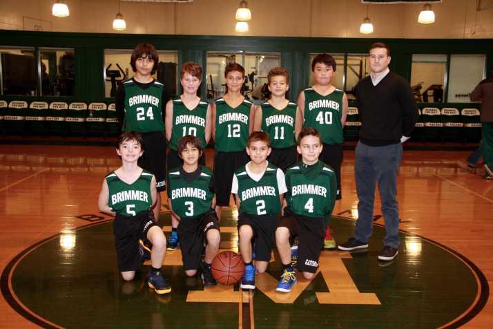 6th grade boys' team. Photo by Megan Clifford.