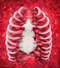 Snow Yang, (Heart) Digital Art-Heart