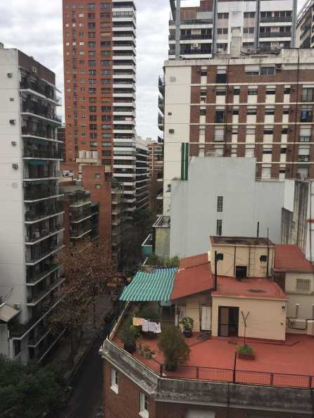 A rooftop photo of Buenos Aires. Photo by Abigail Mynahan '19.
