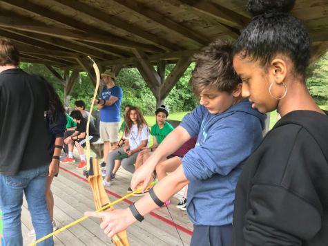 Students bond at Camp Windgate Kirkland. Photo by David Cutler.