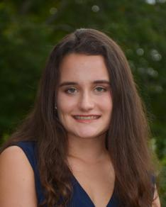 Abigail Mynahan '19 earned top-10 national recognition.
