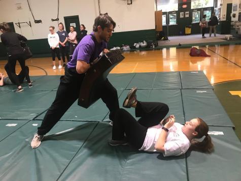 School Offers Female Self-Defense Class