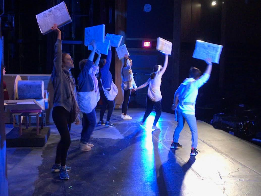 GNN: Behind the Scenes with 'Newsies'