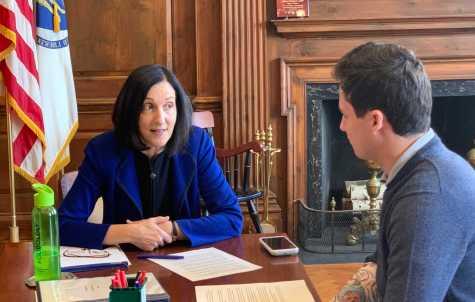 Newton Mayor Addresses Pension, Roads, and Schools
