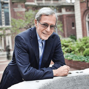 Portrait of Eric Foner. Courtesy of Columbia University.