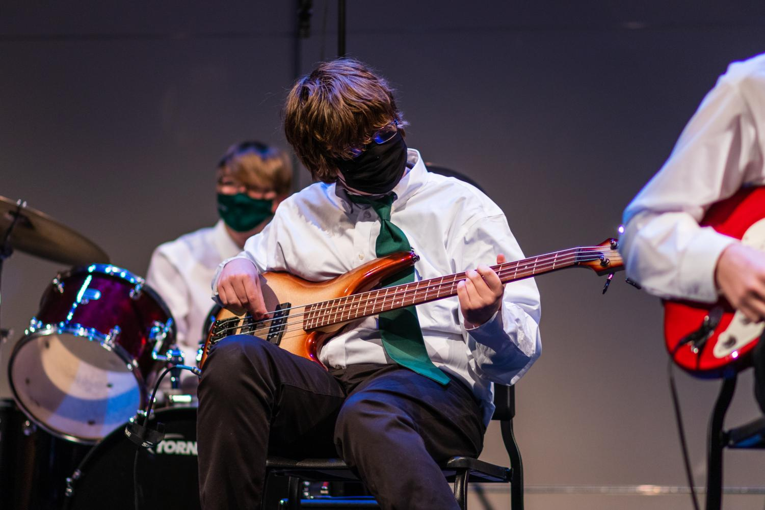 Photos%3A+Upper+School+Band+Performs+Live+Concert