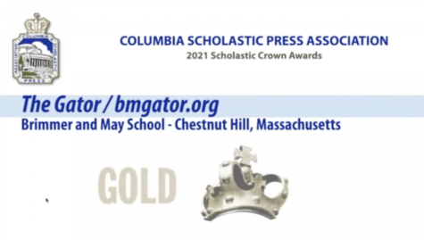 Gator Wins CSPA Gold Crown