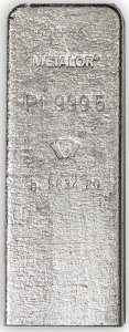 Platinum in 50 ounce bars | BMG Bullion Products