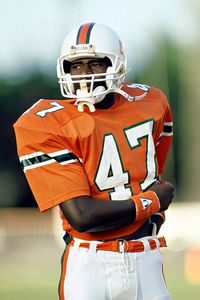"""The Playmaker. One of the forefathers of that winning tradition at the """"U""""."""