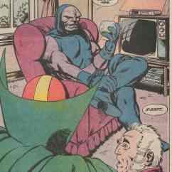 Sofa Classic 100 Cm Wide Bed The Saturday Comics: Darkseid Likes To Sit Down | Mr. Blog ...