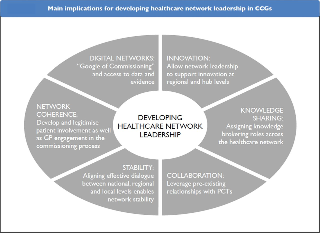 Diagram Of A Hospital Leadership Of Healthcare Commissioning Networks In England