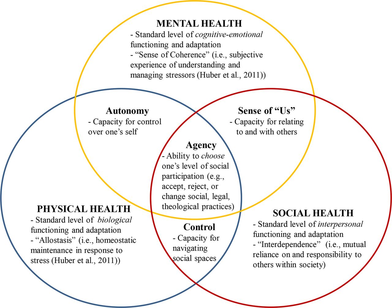 What Is Mental Health Evidence Towards A New Definition