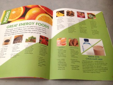 Solo Magazine Energy Food Spread