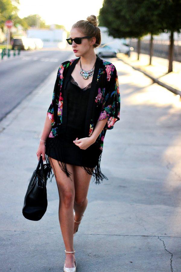Making Most Out of a Kimono Cardigan  Be Modish