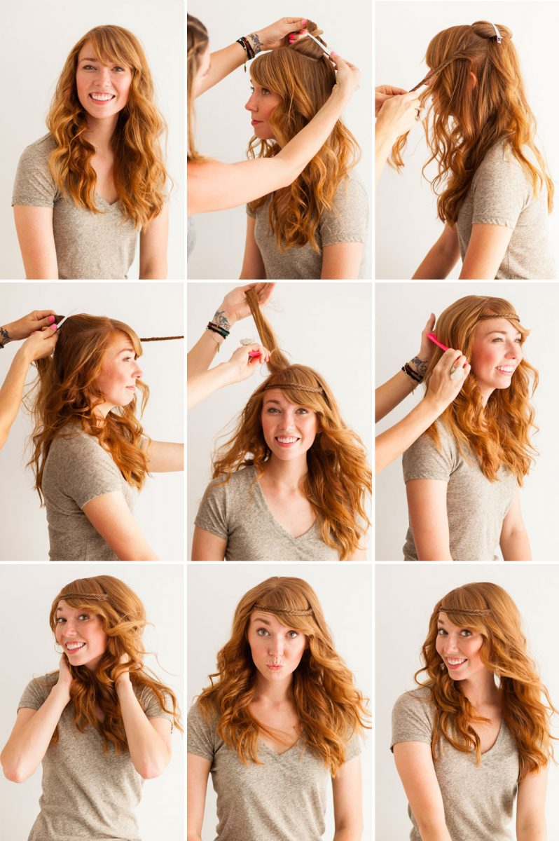 10 Pretty Headband Hairstyle Tutorials Be Modish