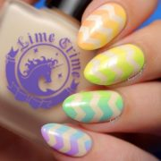 beautiful gradient nail art