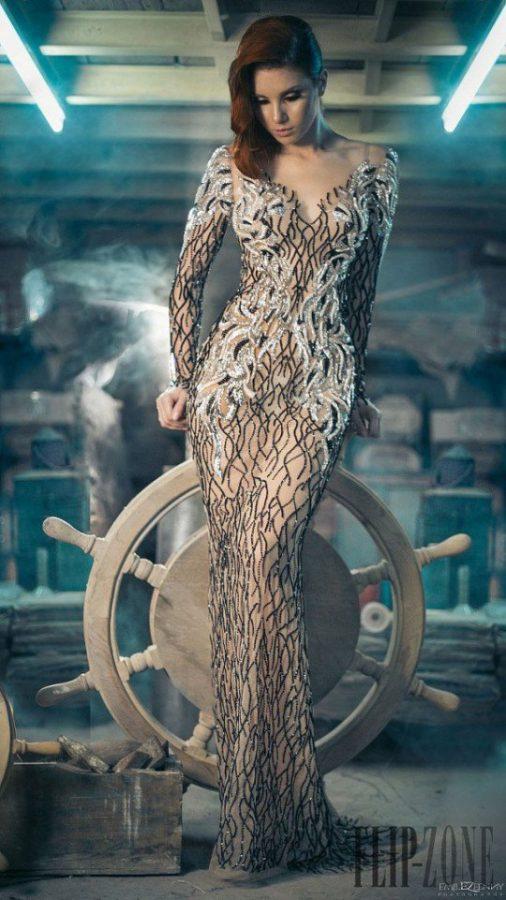 Amazing Haute Couture Charbel Zoe Fall Winter 2014 2015