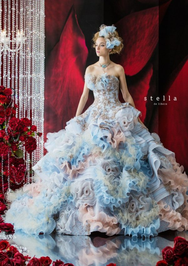 Unique Colored Wedding Dresses
