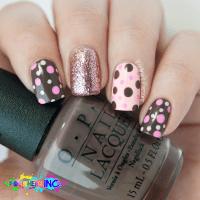 20 Cute Dotticure and Polka Dots Nail Arts Ideas - Be Modish