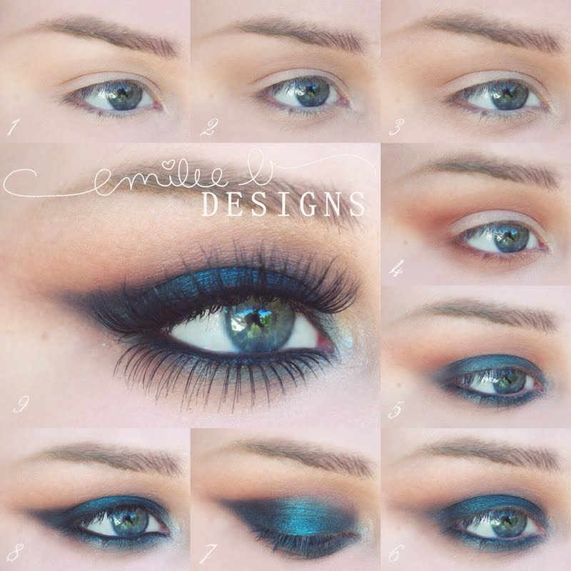 Simple But Dramatic Smokey Eye MakeUp Tutorial  Be Modish