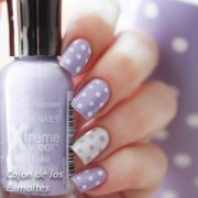 cute dotticure and polka dots
