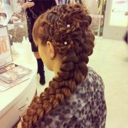 combo cool braided hairstyles