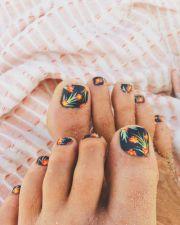wonderful toenail design