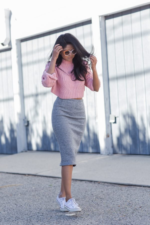 Sweater and Skirt Outfits Combo To Copy Now  Be Modish
