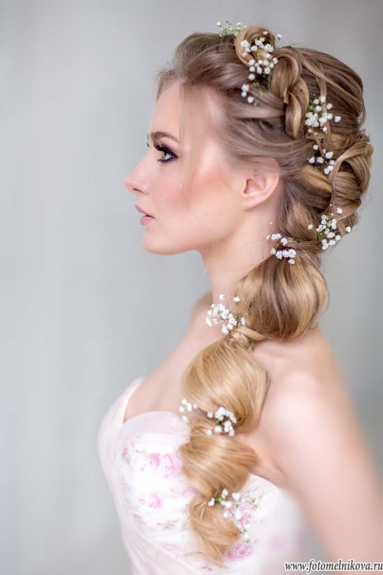 Stunning Wedding Hairstyles with Braids For Amazing Look in Your Big Day  Be Modish