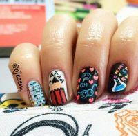 37 Super Cute Back To School Nail Art Designs - Be Modish