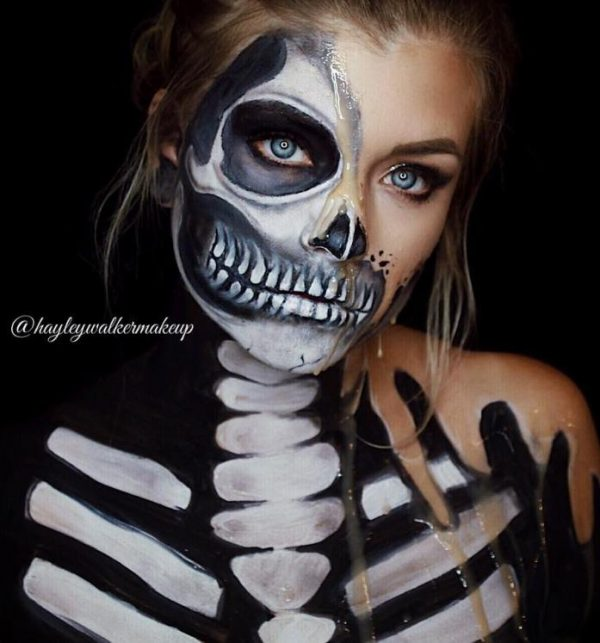 Freaky Fun Halloween Makeup Ideas That Will Make You Stand