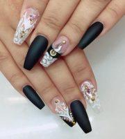 pretty coffin ballerina nails