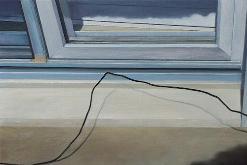 Lillian Bayley Hoover - untitled (grounding wire) - 72