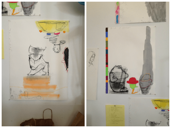 Two Studies on Paper