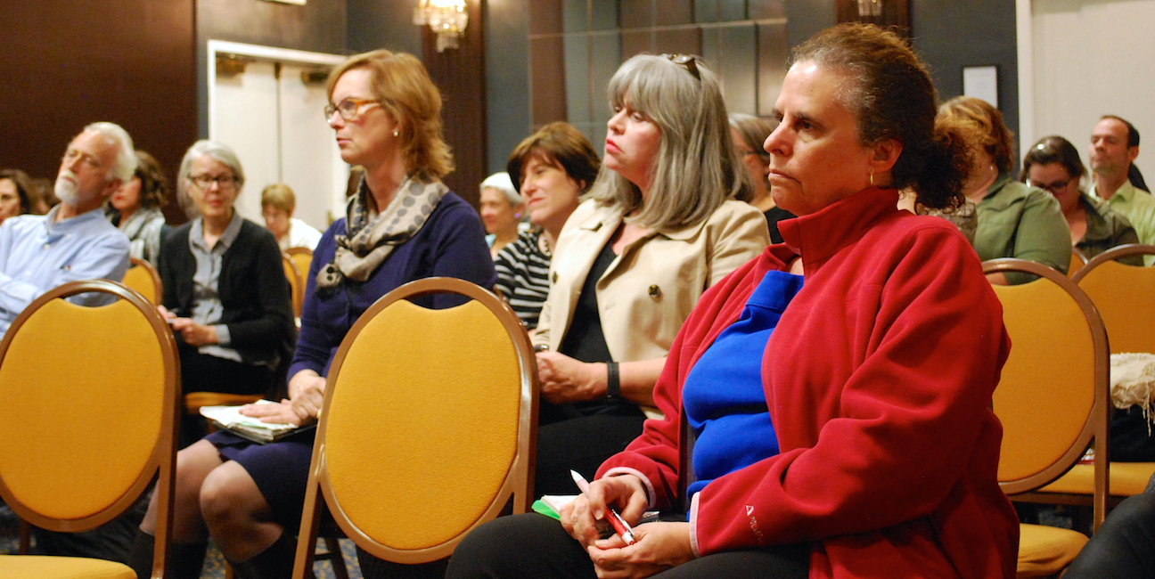 Audience at WPA Conversations