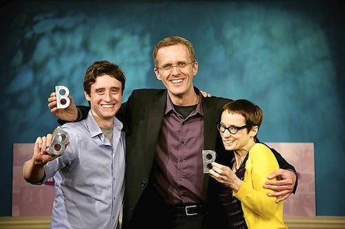 Left to right:  Jonathan Latiano, Dariusz Skoraczewski, and Lynne Parks.  Credit:  Cory Donovan
