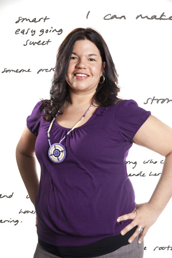 Ashley Minner, from The Exquisite Lumbee Project