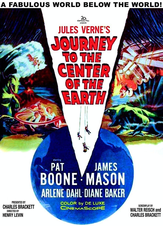 Voyage Au Centre De La Terre 1959 : voyage, centre, terre, Journey, Center, Earth, (1959), B-Movie, BFFs!
