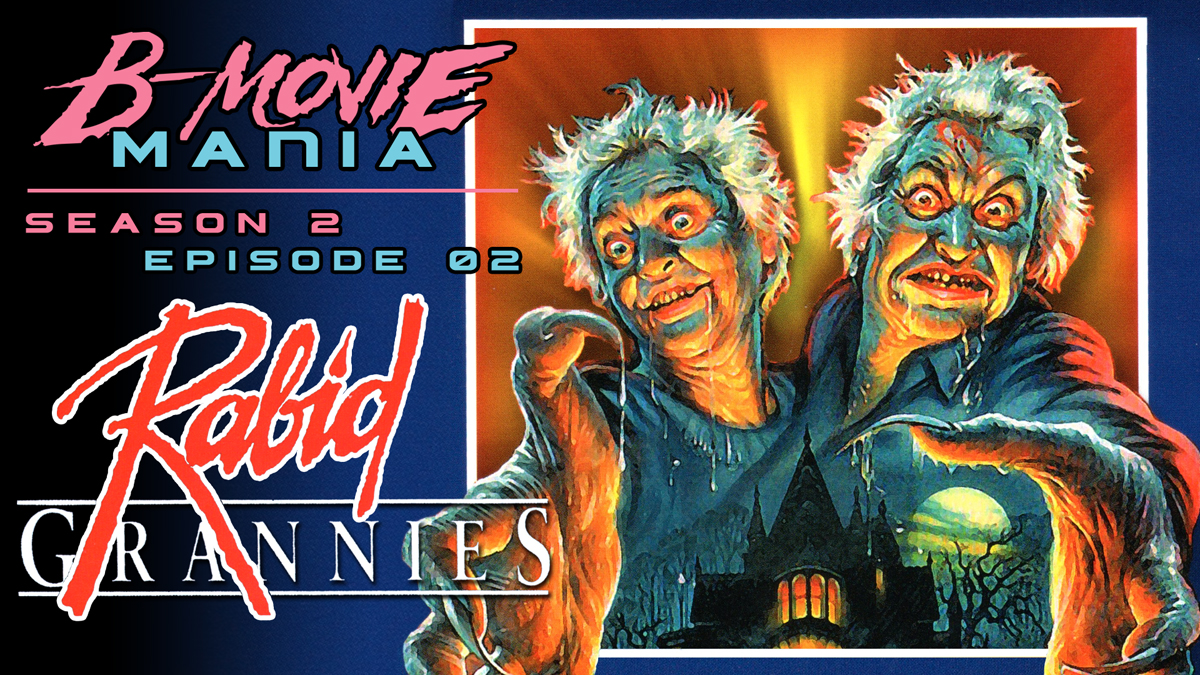 Its Time To Check In With Grannie B Movie Maniacs Watch 2 Old Ladies Open A Demon Box Transform Into Hell Spawn And Rip Apart Their Family Members