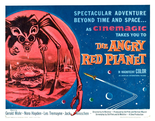 The Angry Red Planet (1960)