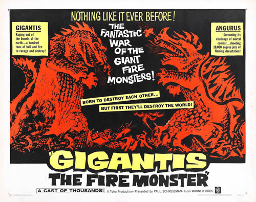 Gigantis, The Fire Monster (1955)