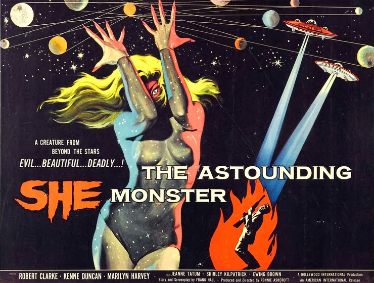 #BMovieManiacs Event: The Astounding She Monster